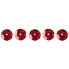 Sequins Round 6mm Aprx 1600pcs Hologram Red